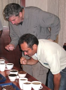 FRB Coffee Cupping