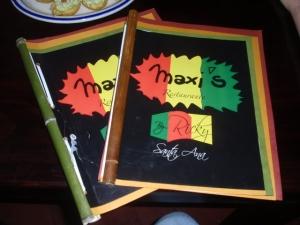 Maxi's Menu